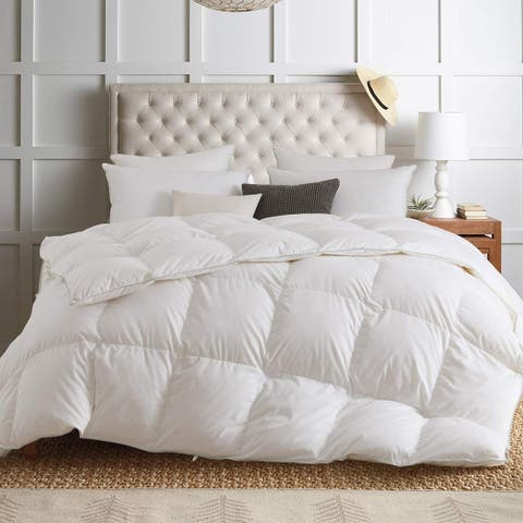 Kasentex White Down Comforter 1600TC, 850 Fill Power