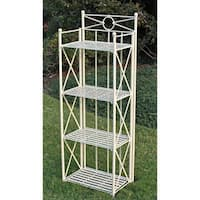 International Caravan St. Lucia 4-tier  Baker's Rack