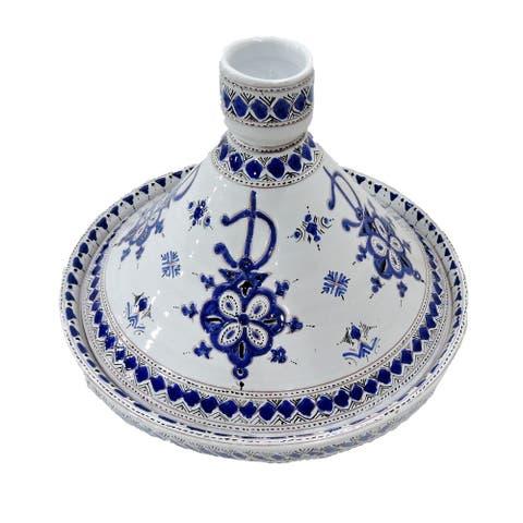 Handmade Serving Tagine (Morocco)