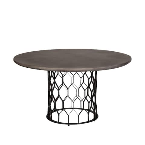 """Aster Concrete Dining Table - 55"""""""