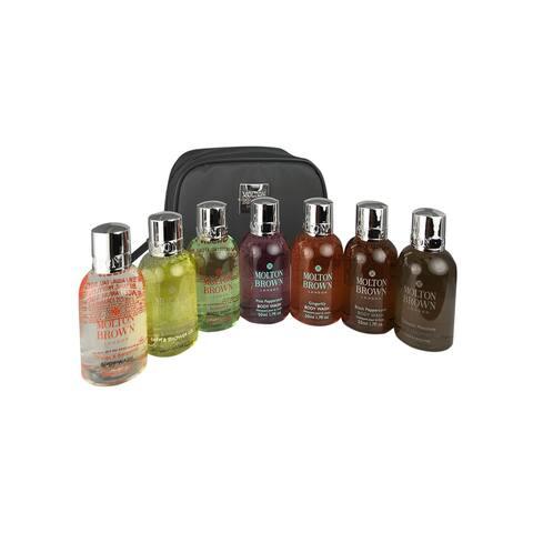 Molton Brown Body Wash Travel Kit 7 x 1.7oz