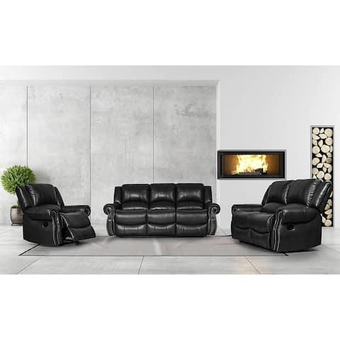 Greatime SL2802 PU manual sofa & Loveseat