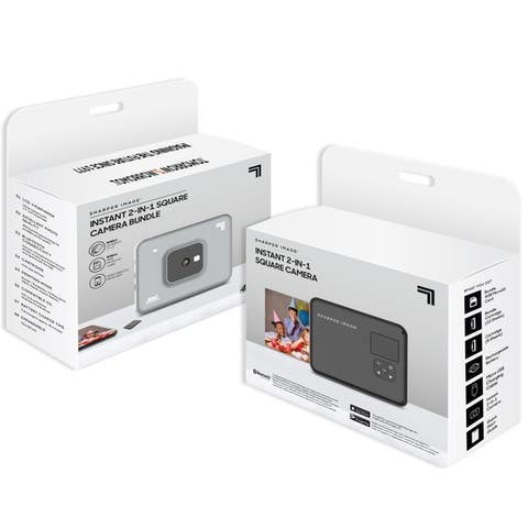 """Sharper Image Instant 2 in 1 Camera Bundle with 3.0"""" x 3.0"""" pictures"""