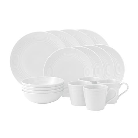 Gordon Ramsay by Royal Doulton Maze 16-piece Dinnerware Set
