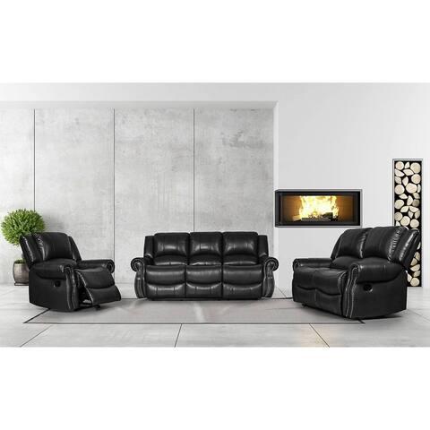 Greatime SS2802 PU manual 3pcs sofa set