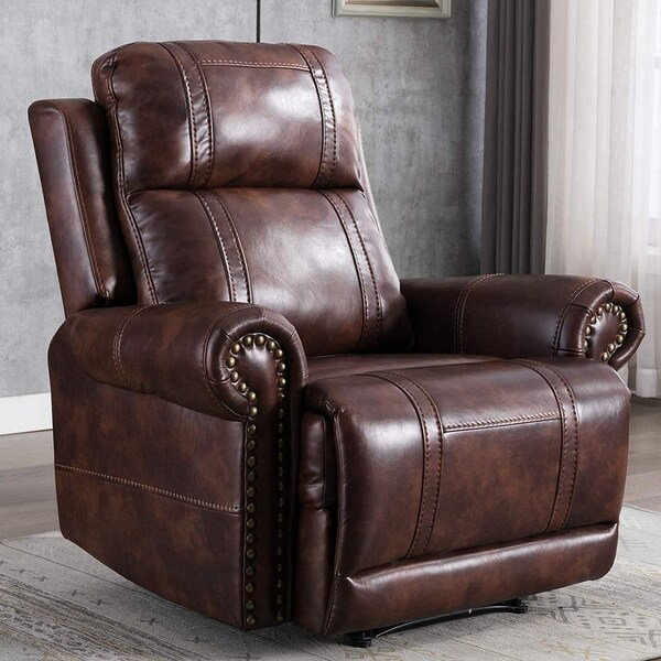 Shop Leather Recliner Chair, Classic and Traditional Manual
