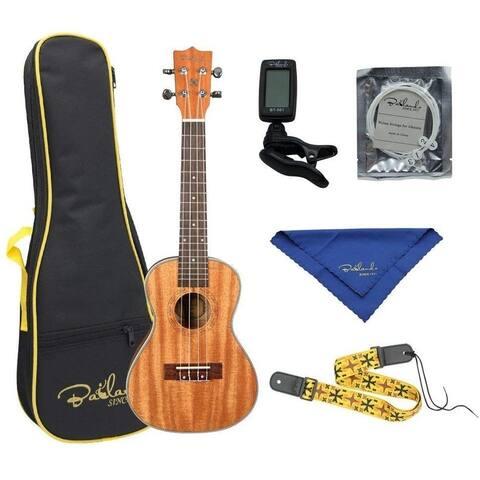 Bailando 23Inch Wooden Concert Ukulele Kit&Bag,Strap,Strings,Tuner