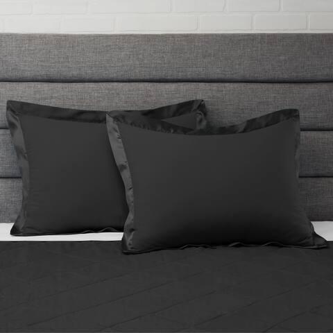 Empyrean Bedding Satin Trim Premium Microfiber Pillow Sham