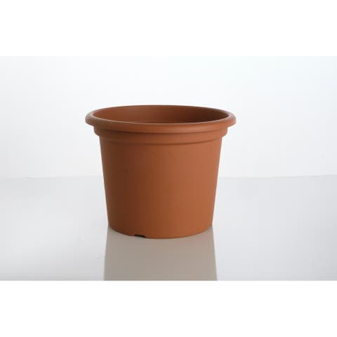 "19.5"" Round Geo Planter with drainhole - 19.5"" x 19.5"" x 14.75"""