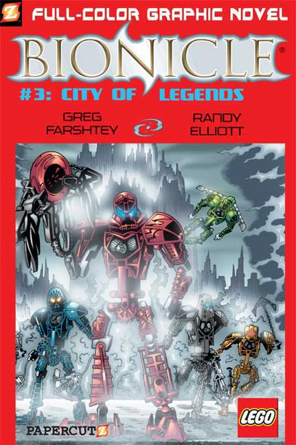 Bionicle 3: City of Legends (Paperback)