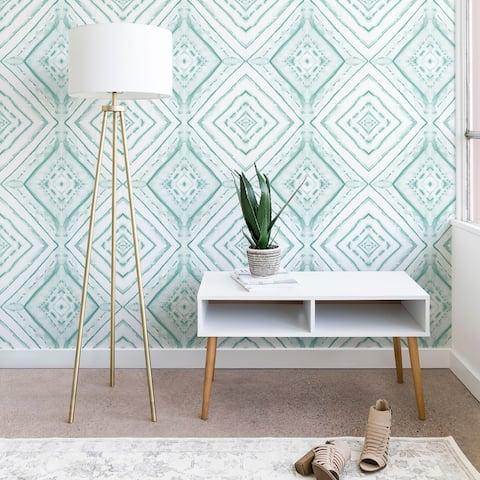 Deny Designs Dye Dash Diamond Wallpaper