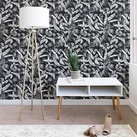 Deny Designs Jungle Black and White Wallpaper