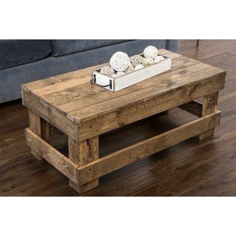 Landmark Pine Wood Coffee Table