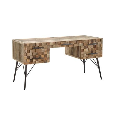 Grant Checkerboard Panel Writing Desk