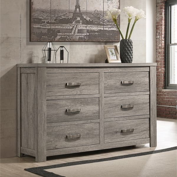 Floren Contemporary Weathered Gray