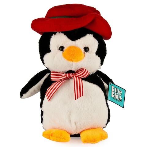 "Very Soft Stuffed Animal Plush Toy, Penguin - 9'6"" x 13'"