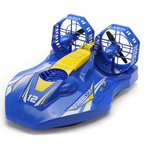 hovercraft with 2.4 Ghz remote and rechargeable batteries - 1:18
