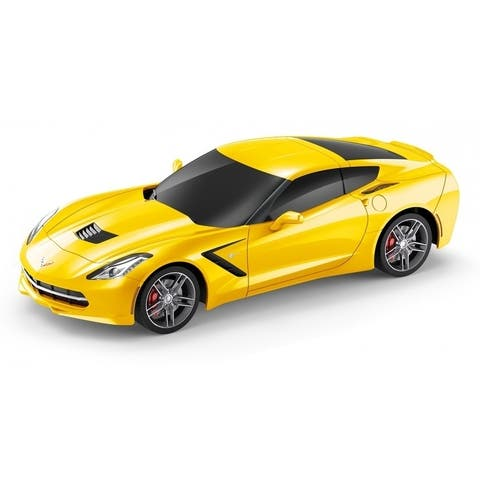 1/24 scale Corvette C7 Yellow