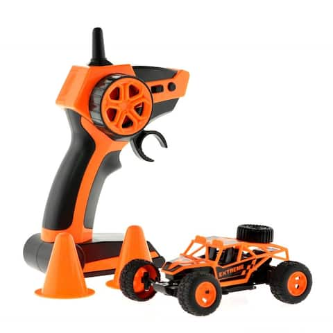 1/40 micro racing truck with 15 MPH top speed Orange