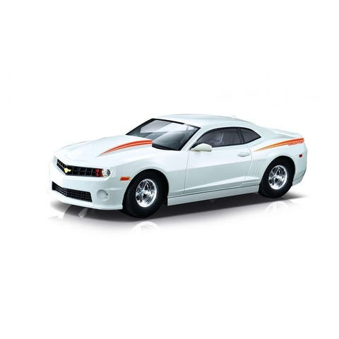 1/14 2012 Chevy Camero Copo with lights and rechargeable batteries White