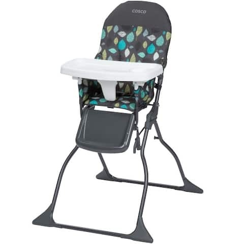 Cosco Seedling Simple Fold Full Size High Chair with Adjustable Tray