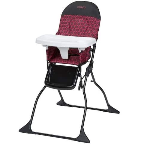 Cosco Harper Simple Fold Full Size High Chair with Adjustable Tray