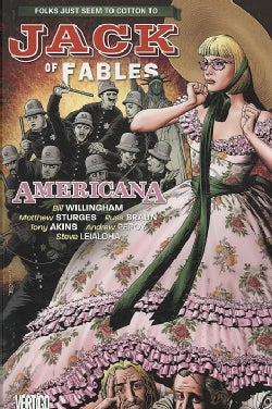 Jack of Fables 4: Americana (Paperback)