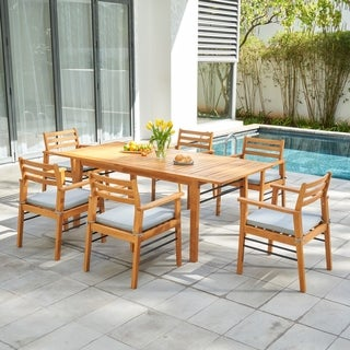 Link to Gloucester Honey 7-Piece Dining Set Similar Items in Patio Furniture