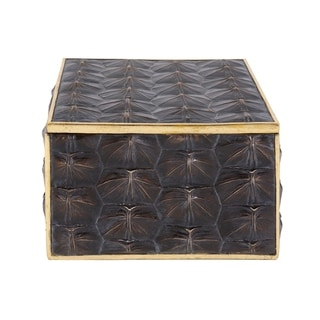 Link to Tortoise Shell Textured Box, Large Similar Items in Accent Pieces