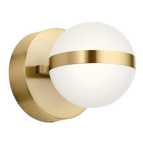 élan Brettin LED Wall Sconce Champagne Gold