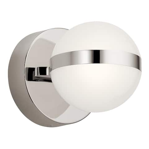 élan Brettin LED Wall Sconce Polished Nickel