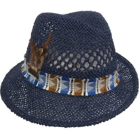 Unisex spring Toyo Straw cloche fedora hat