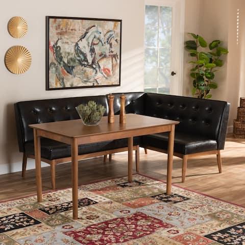 Carson Carrington Isaksbo 3-piece Dining Nook Set