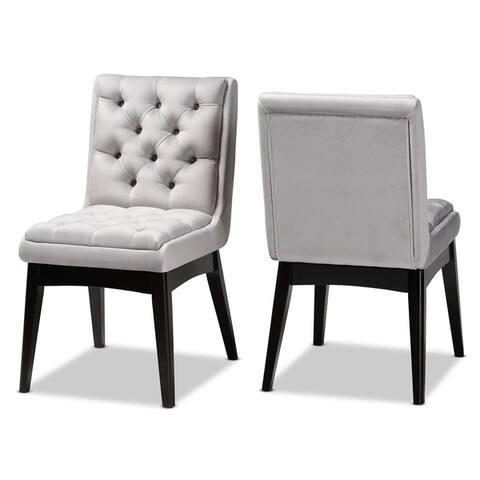 Carson Carrington Ilnestorp Transitional 2-piece Dining Chair Set