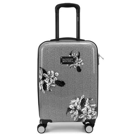 BADGLEY MISCHKA Essence Hard Spinner Carry-on Suitcase - 4 Patterns