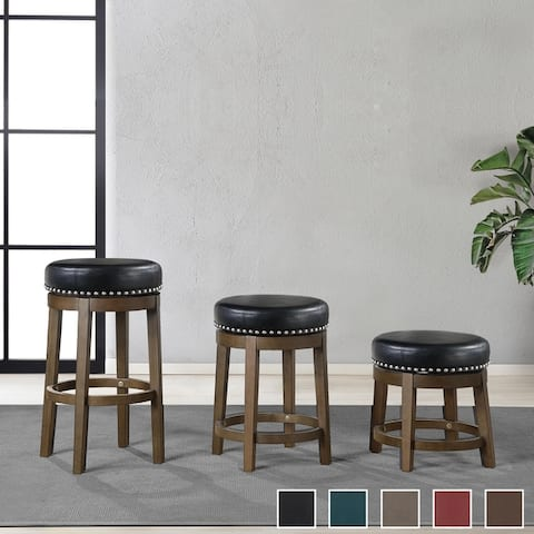 Michigan Round Swivel Stool (Set of 2)