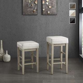Link to Hebron Square Stool (Set of 2) Similar Items in Dining Room & Bar Furniture