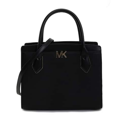 Michael Kors Womens Montgomery Large Satchel Black 35T9GO8S3L