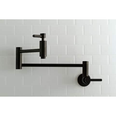 Concord Wall Mount Pot Filler Kitchen Faucet