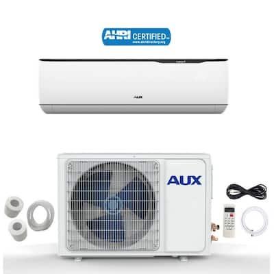 AUX 12000 BTU MINI Split Ductless Air Conditioner 115V 17 SEER 12Ft