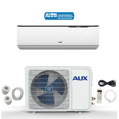 AUX 12000 BTU MINI Split Ductless Air Conditioner 115V 17 SEER 12Ft