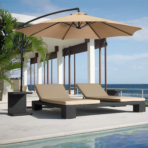 Waystock Cantilever Umbrella with Fusion Base