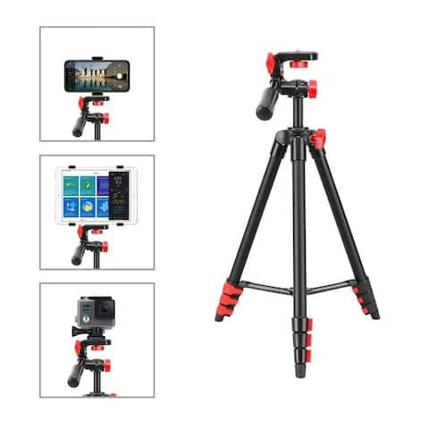 Zomei T70 Portable Camera Mount Tripod Stand w/ Phone Clip, BT Remote