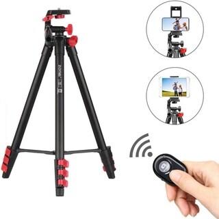 Zomei T80 Portable Camera Mount Tripod Stand w/ Phone Clip, BT Remote