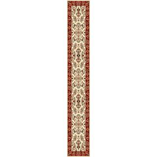 Safavieh Lyndhurst Traditional Oriental Ivory/ Red Runner (2'3 x 14')