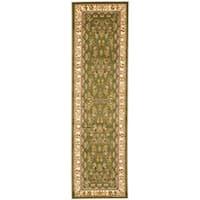 """Safavieh Lyndhurst Traditional Oriental Sage/ Ivory Runner (2'3 x 14') - 2'3"""" x 14'"""