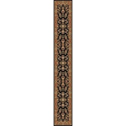 Safavieh Lyndhurst Traditional Oriental Black/ Tan Runner (2'3 x 14')