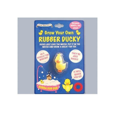 Easter Kids Funny Toy Grow A Rubber Ducky (Single)
