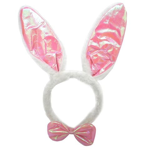 Easter Fun Bunny Ear Bow Tie Set, Single (Assorted/Color May Vary)