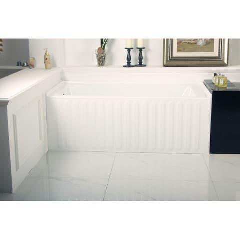 60-Inch Acrylic Alcove Tub